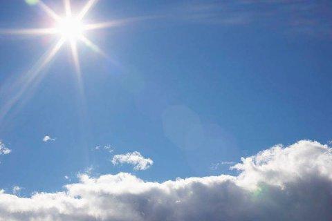 HUGSAR DU DENNE?: Vår nærmaste stjerne, sola, kan bli å sjå måndag og tysdag neste veke.