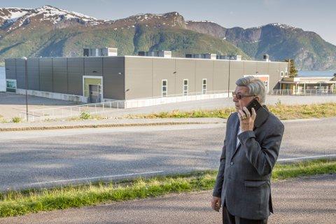 Frank Ove Ytredal vil ha krematorium i SIVA-bygget på Tronvik på Kyrkjebø.