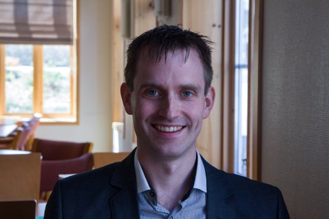 Norge-sjefen: Stian Hårklau, dagleg leiar for Enoro Norge.