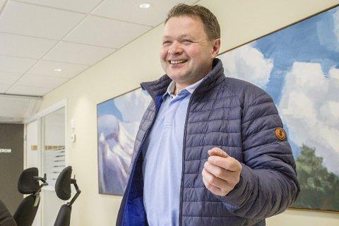 AVTALE: Geir Helge Østerbø (Sp) sikra til slutt avtale med Ap og blir varaordførar i Høyanger dei neste fire åra.