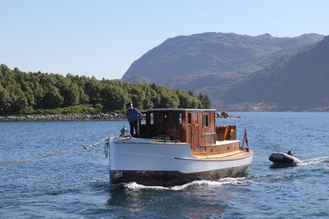 NY KAI: Kulturminnet M/S Stangfjord kan få nytt kaianlegg.