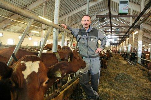 PROVOSERT: Anders Felde, leiar i Bondelaget, regerer sterkt på utspelet om å ta matjord til bustadar.