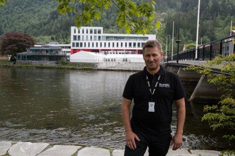 NYTT: Vi håper Førde Øl- og matfestival skal bli ein årleg festival med fokus på tradisjon, brygging og kultur, seier Fred Reiersen ved Scandic Sunnfjord Hotel  & Spa.