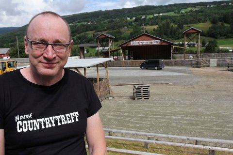 Arve Kleppe, kst dagleg leiar Norsk countrytreff,