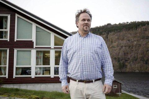 HALDEN UTANFOR: – Eg har ikkje fått tilsendt rapporten, seier Anders Lien, dagleg leiar i Hafs utvikling AS.