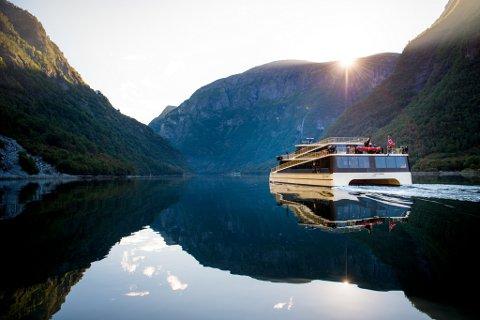 BEST PÅ UNIVERSELL UTFORMING: «Vision of the fjords» på Nærøyfjorden i Sogn.