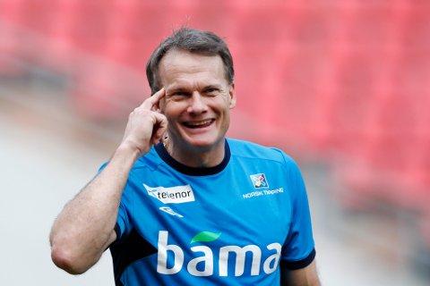 KLAR FOR SKJERMEN: Eks-proffspelar Frode Grodås har vore keepertrenar for landslaget sidan 2010. No blir han også realitystjerne.
