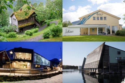 MUSEUM: Kystmuseet, Eikaas-galleriet, Astruptunet og Reiselivsmuseet er mellom musea som sorterer under Musea i Sogn og Fjordane.