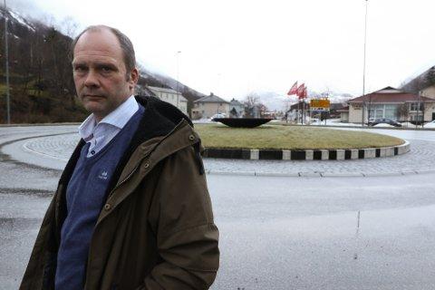 VISJONAR: Oddmund Klakegg, styreleiar i SUM, må legge visjonane på vent medan SUM ryddar opp i kompostproblemet sitt.