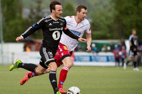 Ørjan Hopen har valt å forlate Levanger, etter to sesongar for Trøndelags-klubben. No trenar han med Sogndal. Her er han avbilda frå ein cupkamp mot Rosenborg i 2015.