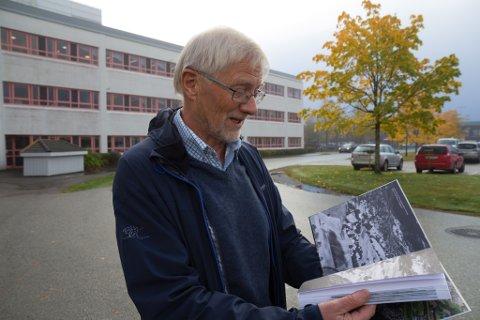 """BOKSLEPP: Arne W. Aasland lanserer boka """"Førde blir by"""" torsdag denne veka."""