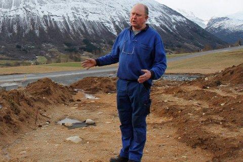 FRIKJENT: I mai blei Bjarne Hole dømt for brot på kulturminnelova, men han anka dommen. No er han frikjent i Gulating lagmannsrett.