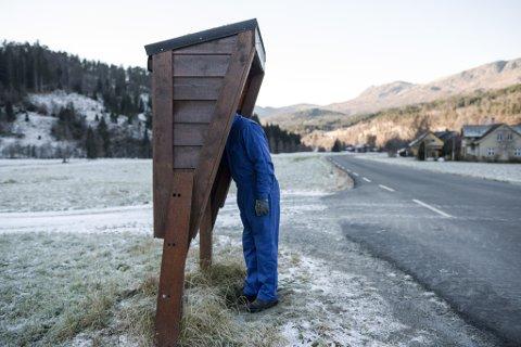 Dette bildet av Jan Herstad i Naustdal fekk heiderleg omtale under Sogn og Fjordane journalistlag sitt årsmøte.