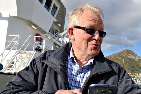 TENTE MEST: Kåre Furnes  frå Måløy toppar inntektslista i Sogn og Fjordane.