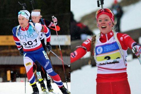 Verken Karoline Erdal eller Håvard Gutubø Bogetveit kom med dei norske troppene som vart teke ut måndag.