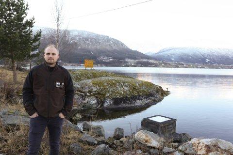 KJØPER: Kristian Aamund Petersen er dagleg leiar i KA-bygg på Sandane og styreleiar i selskapet som vil kjøpe bustadfeltet på Elvaneset.