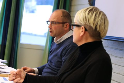INGEN ENDRINGAR: Ordførar Oddmund Klakegg og resten av formannskapet gjorde ingen endringar i budsjettframlegget frå  rådmann Ellen Jensen.