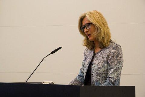 GODT NØGD: Kari Valle er glad for at mange gode søkjarar har søkt seg til stillinga som frisklivskoordinator.