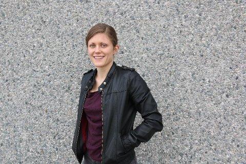 FØRSTE KULL: Kristine M. Stensland frå Bryne, var i det første praktikantkullet. I dag jobbar ho i lokalavisa Gjesdalbuen. - Eg hadde ikkje vore journalist om det ikkje var for nynorsk avissenter, seier 30- åringen.
