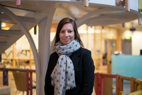 NY DIREKTØR: Linda Wøllestad Westbye er ny direktør for privatmarknad hos Sparebanken Sogn og Fjordane.