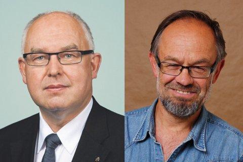 USAMDE: Trond Vernegg i Riksmålsforbundet og Magne Aasbrenn hamna i ordkrig direkte på TV2 Nyhetskanalen måndag.