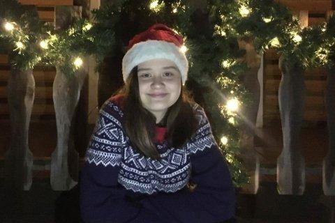 KLAR FOR JUL: Madeleine Reme gler seg til å bruke jula saman med familien. På nyåret blir det pumping.