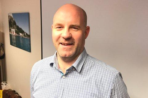 NY DIREKTØR: Rune Førde gjekk over i jobben som administrarande direktør i Artic Shipping 1. desember.