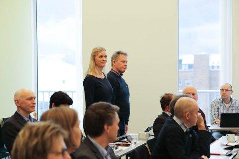 STOD: Mange i bystyret var skeptiske til om Førde har råd, men berre Gunn Merete Paulsen og Jan Taule (V) gjekk imot å inngå ein intensjonsavtale som betyr at Førde må ut med nær 30 millionar kroner til fellesmagasin i Movika.