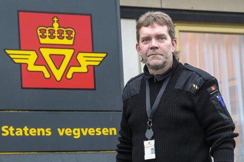 Inspektør Svein Ove Salt, Statens vegvesen i Førde. (Arkivfoto)