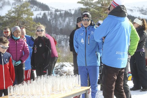 GLEDE: Yngve Thorsen kan puste letta ut med tanke på at dei har makta å gjennomføre alle renn i årets snøfattige sesong.