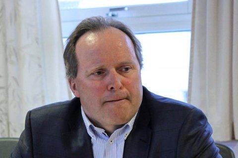 GOD START PÅ ÅRET: Dagfinn Neteland er administrerande direktør i Fjord1.