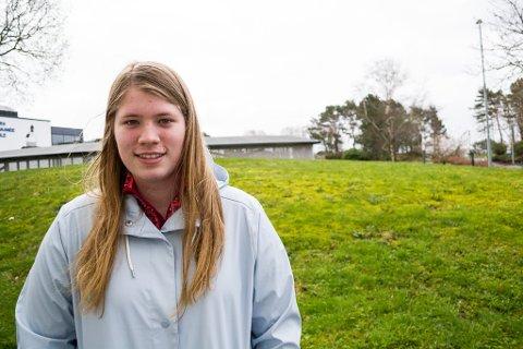 Lene Louise Madsen, Florø, 17 år.