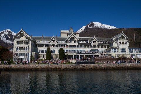 BALEJAZZ: Festivalen blir arrangert på Kviknes Hotel i Balestrand.