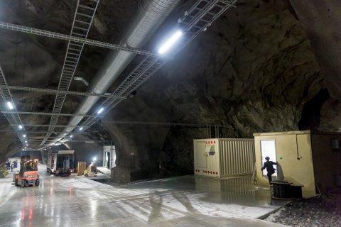 VIL BLI STØRST: Dei norske eigardelane i Lefdal Mine Datacenter er kjøpt opp av eit amerikanske investeringsfond.