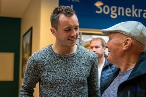 Even Hovland var til stades på Fosshaugane og såg Sogndal sitt møte med Odd. Blir han ny Sogndal-spelar?