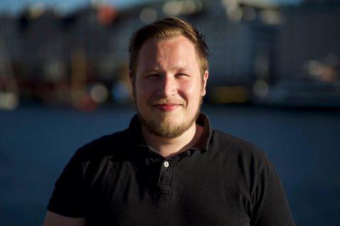 PRODUSENT: Tor Kjetil Leknes frå Atløy er produsent hos filmselskapet Broadstone og for filmen «Mare».