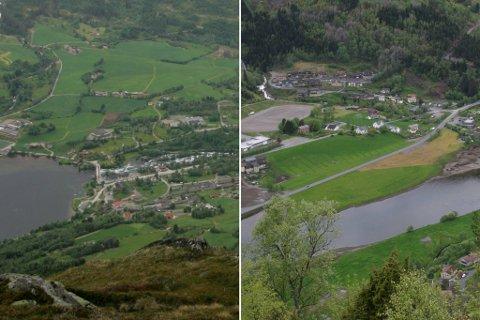 VERST: Jølster og Naustdal er kommunane i fylket som har høgast eigedomsskatt og avgifter, og skilnadane er store.