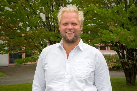IDÉUTVIKLAR: Joachim Vie forlet Rein Design for å utvikle nye idéar for helsevesenet.