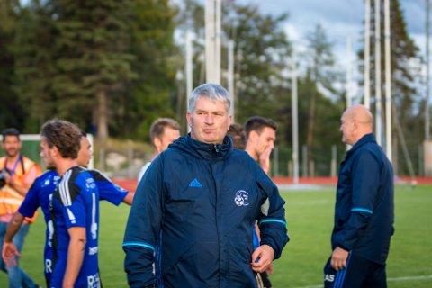 GOD LÆRING: Terje Rognsø fortel at det er mykje god læring i ein slik treningskamp.
