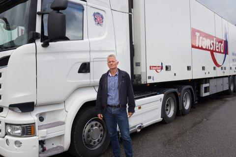 OPPTUR: Nils Huus er dagleg leiar i Transferd AS, og kan vise til god utvikling i selskapet dei siste åra.