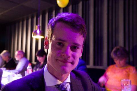 INNE: I morgontimane tysdag var Tore Storehaug usikker, men fem timar seinare trur han at stortingsplassen er hans.