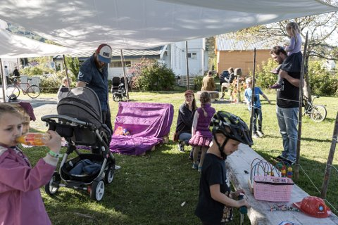 Byttebua. Dale synte seg frå si beste side under Teaterfestivalen i Fjaler for 2017.