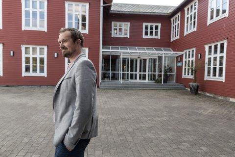 AUSTOVER: Stian Madsen og Hansen Technologies er klare for Oslo, for å kome nærare dei store kundane.