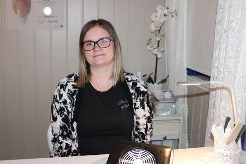 EIGEN SALONG: På nyåret starta Line Tordal Førde sin eigen velværesalong i Solund.