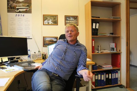 NY JOBB: Nils Huus er dagleg leiar i Transferd. Frå nyttår tok han også på seg jobben som  nestleiar i Firda Billag AS.