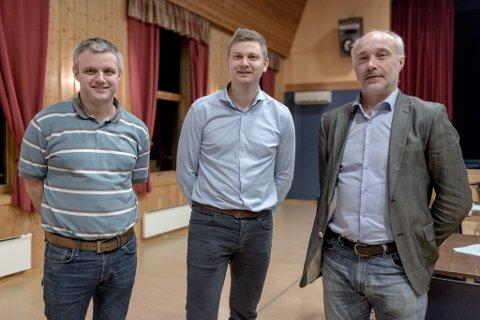 REDD: Fv. Grim Erik Gillestad, Pål Anders Kårstad og Frode Kårstad.