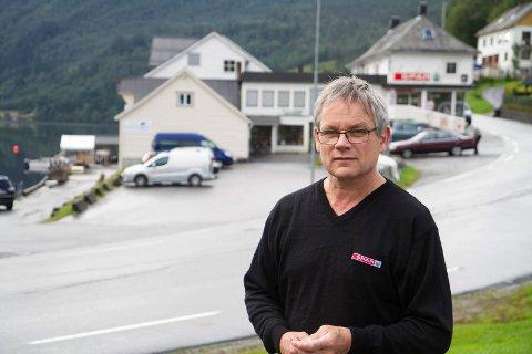 Olav Birkeland, eigar av Spar og Tønna i Bygstad