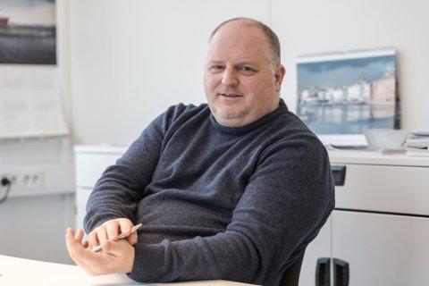 GÅR AV: Lasse Stokkeland.