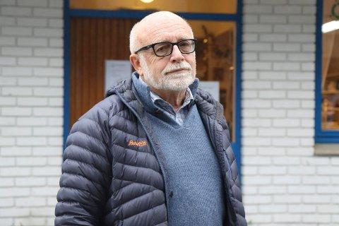 GLØYMER DET IKKJE: Når kundesørvisen er ekstra god, gløymer eg det ikkje. Og det skal så lite til, seier Kjell Skaaheim i Førde.