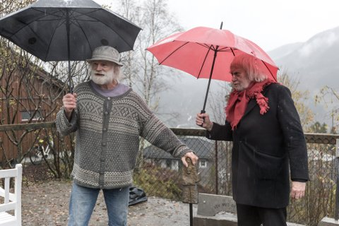 FEKK NEI: Eikaas har allereie tre skulpturar av Oddvar Torsheim rundt i Sunnfjord og omegn. No ønskjer han å få på plass ein fjerde.